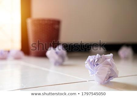 бумаги · мяча · мусор · бизнеса · служба - Сток-фото © swillskill