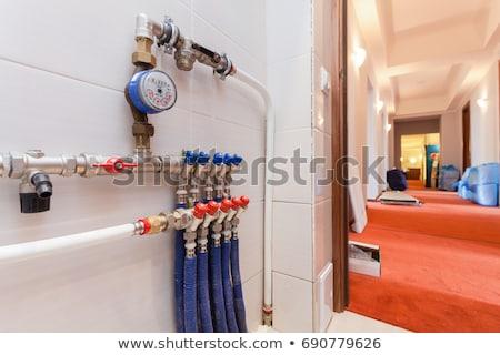 Industrial heat water pipes Stock photo © stevanovicigor