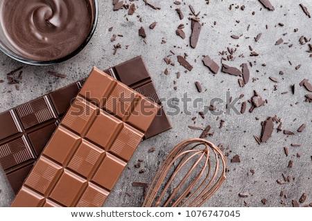 Grated baking chocolate Stock photo © Digifoodstock