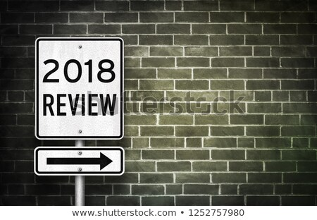 Road sign 2018 Stock photo © Oakozhan