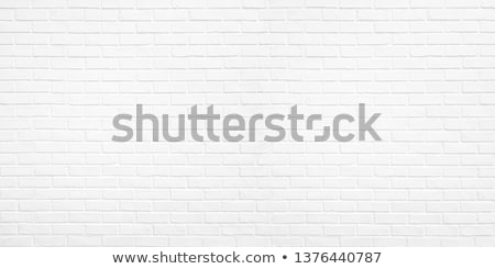 Weathered rustic white brick wall surface texture Stock photo © stevanovicigor