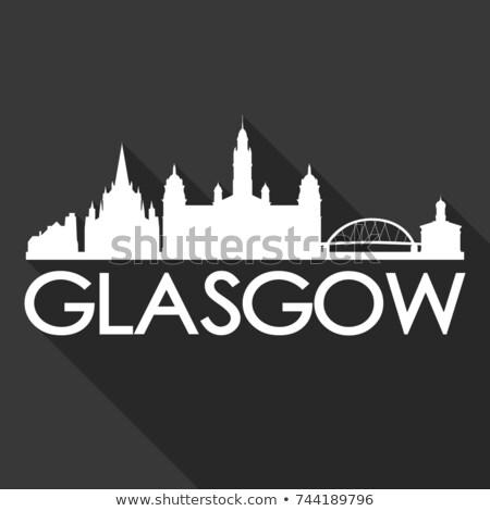 Logo podróży Szkocji ikona formularza balon Zdjęcia stock © Olena