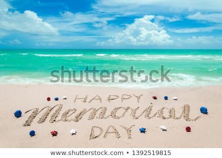 день пляж моде жизни красивой Сток-фото © hsfelix