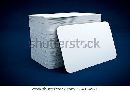 Moderno azul profissional negócio artigos de papelaria conjunto Foto stock © SArts