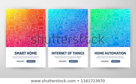 インターネット · セキュリティ · 行 · デザイン · ウェブサイト · バナー - ストックフォト © anna_leni