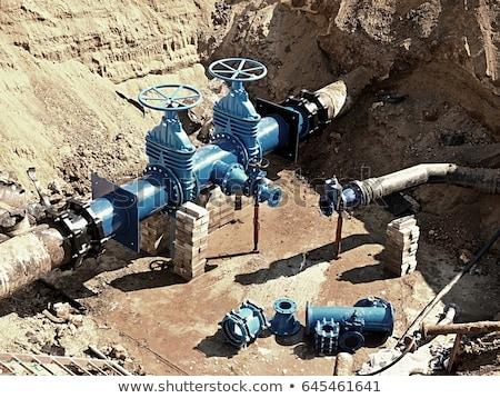 клапан вертикальный мнение нефть газ промышленности Сток-фото © EvgenyBashta