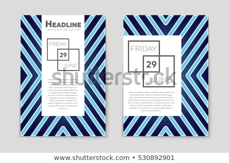 corporate party   modern line design style illustration stock photo © decorwithme
