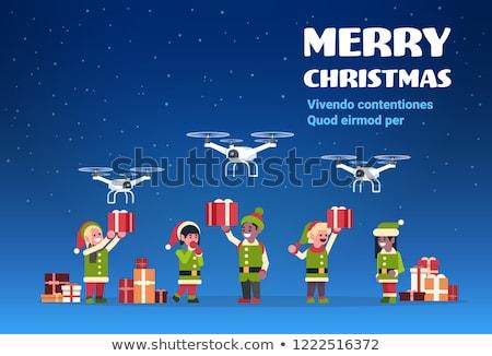 Дед Мороз доставки службе команда Сток-фото © IvanDubovik