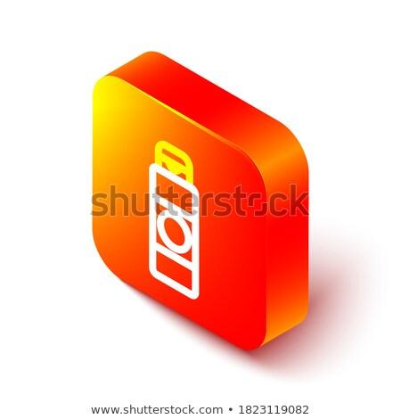 Kozmetikai szín skicc izometrikus ikonok eps Stock fotó © netkov1