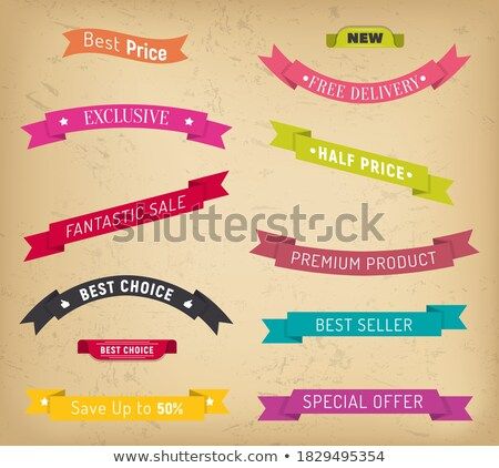 Fantastic Offer and Exclusive Discount Shoppers Stock photo © robuart