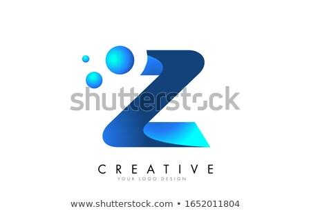 Azul gradiente 3D 3d ilustración Foto stock © djmilic