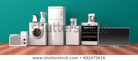 Foto d'archivio: Famiglia · cucina · elettrodomestici · set · elettronica