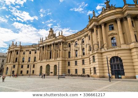 Humboldt University of Berlin, Germany Stock photo © borisb17