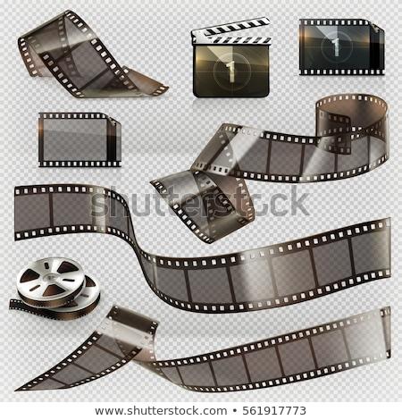 カメラ テープ 映写スライド 写真 ロール 孤立した ストックフォト © robuart