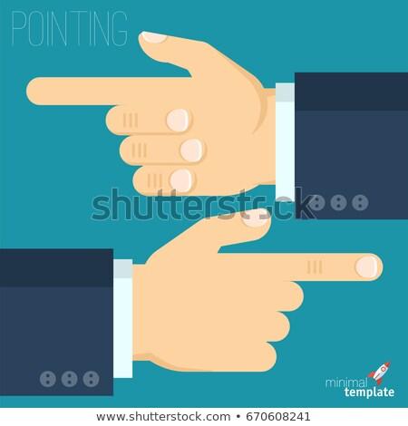 empresario · elección · eps10 · vector · formato · ordenador - foto stock © pikepicture