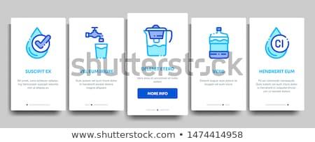 zestaw · odpadów · recyklingu · wektory · projektu - zdjęcia stock © pikepicture