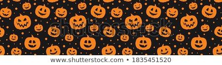 halloween · design · foresta · zucche · horror · autunno - foto d'archivio © mythja
