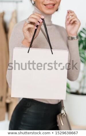 счастливым молодые потребитель белый камеры Сток-фото © pressmaster