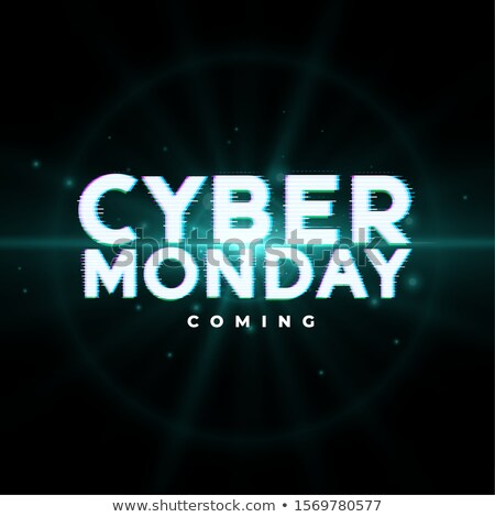 cyber monday upcoming sale event background design Stock photo © SArts