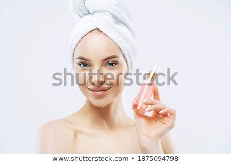 приятный глядя молодые женщины модель макияж Сток-фото © vkstudio