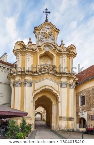 Church and monastery of the Holy Trinity, Vilnius, Lituania Stock photo © borisb17