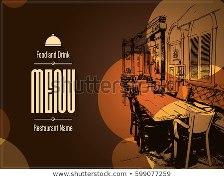 Cafe and Coffee House, Eating Out, Restaurant Stock photo © robuart