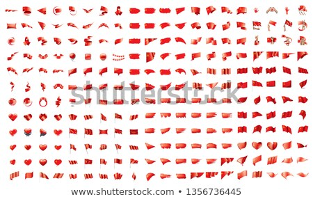 very big collection of vector flags of the USSR Stock photo © butenkow
