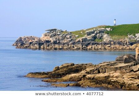 Pulpit rock, St. Mary's Isles of Scilly, Cornwall UK. Stock photo © latent