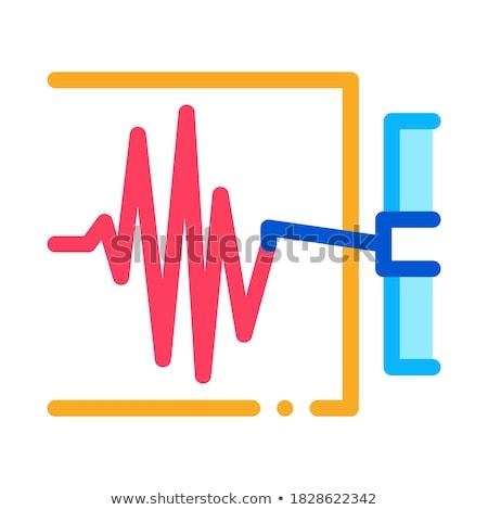 Escala medición icono vector ilustración Foto stock © pikepicture
