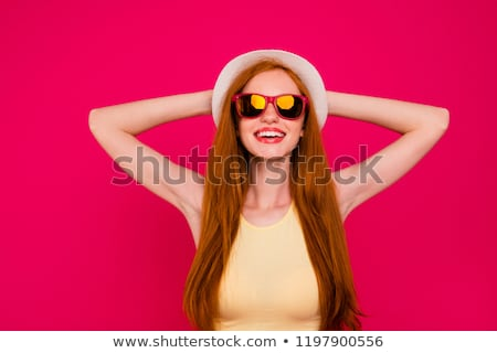 face behind sun glasses Stock photo © drizzd