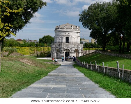 Mausoleum of Theodoric in Ravenna Stock photo © aladin66