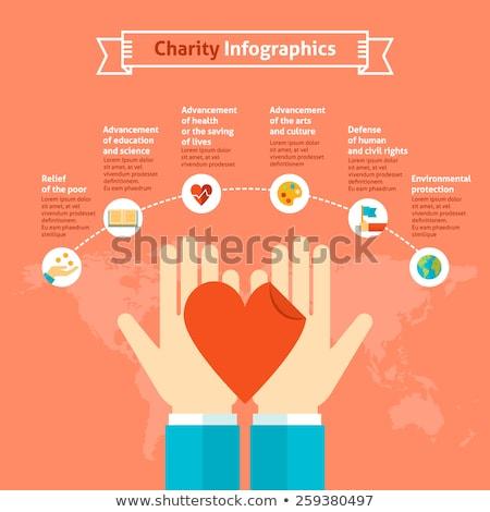 Infographic love life chart Stock photo © vipervxw