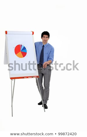 ホワイトボード · 画像 · かなり · 教師 · 見える · スマート - ストックフォト © photography33
