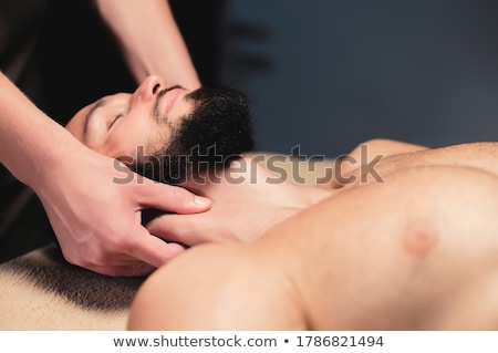 Male pampering in a spa Stock photo © photography33