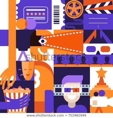 funky · tv · design · cute · televisione · abstract - foto d'archivio © articular