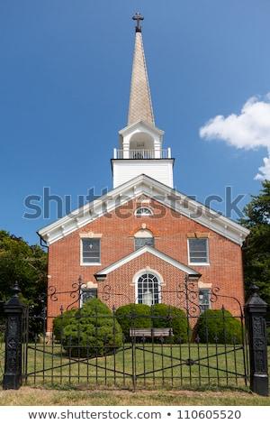 Templom kápolna pont Maryland belső használt Stock fotó © backyardproductions