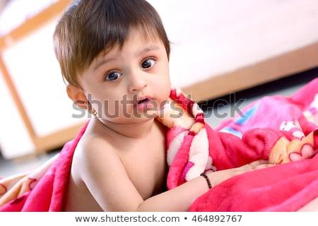 happy indian baby boy stock photo © ziprashantzi