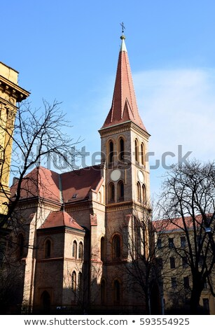 St.Mark Church in Zagreb Stock photo © jakatics