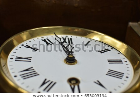 Mechanic with a clock showing noon Stock photo © photography33