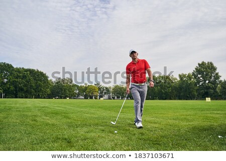 Walking up the fairway Stock photo © RTimages