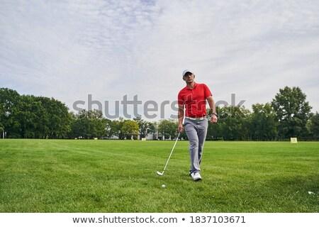hombre · golf · bolsa · hierba · deporte · ejercicio - foto stock © rtimages