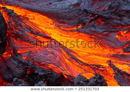 volcano and lava Stock photo © mariephoto