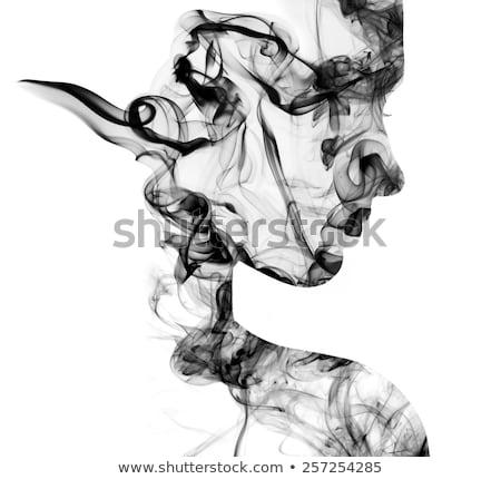 Sexy · курение · сигарету · рук · тело - Сток-фото © acidgrey