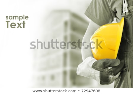 A construction worker with pliers. Stock photo © photography33