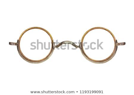 öreg szemüveg kék szemcsés retro klasszikus Stock fotó © Stocksnapper