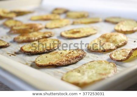 batatas · fritas · tabela · quadro · gordura · almoço · batata - foto stock © rob_stark