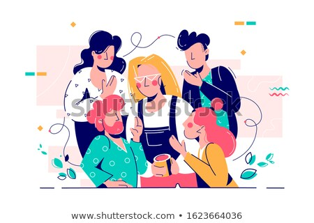 Stock photo:  Business style of young attractive woman