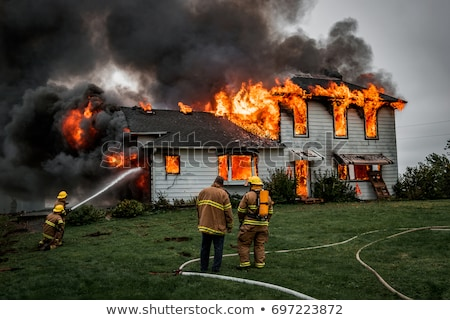 House Fire Stock photo © Lightsource