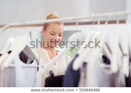 女性 見える 服 レール ブティック 手 ストックフォト © wavebreak_media
