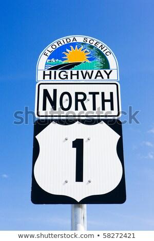 the road number 1 florida keys florida usa stock photo © phbcz